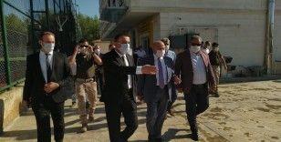 Nihat Özdemir, Siirt Özel İdarespor tesisinde incelemelerde bulundu