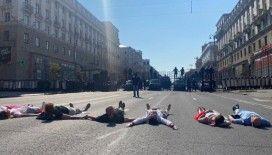 Belarus'ta muhalefetin mitinginde yine olaylar çıktı
