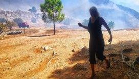 Yunanistan'da arkeolojik sit alanında yangın