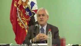 Şili Devlet Başkanı Pinera koronavirüse rest çekti