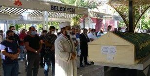 Kayınpederi tarafından öldürülen damadın cenazesi toprağa verildi