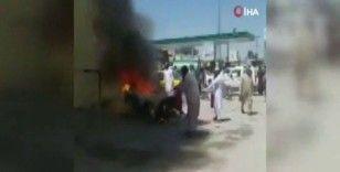 Pakistan'da motosikletli patlama