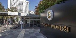 Dışişleri Bakanlığı: Yunanistan'ın NATO Genel Sekreteri'nin inisiyatifine desteğini bekliyoruz