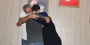 Şırnak'ta teslim olan terörist Mardin'de ailesiyle buluştu