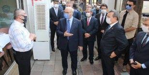 İzmir Valisi Köşger'den korona virüs denetimi