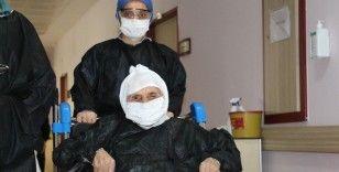 104 yaşındaki Arife nine korona virüsü yendi