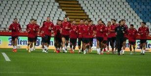 A Milli Futbol Takımı, Sırbistan maçına hazır