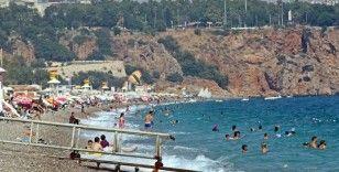 Antalya'da termometreler 45 dereceyi gördü