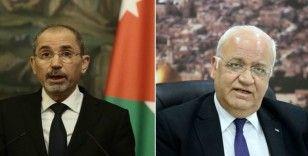Ürdün ve Filistin iki devletli çözüm temelinde Filistin-İsrail sorununu görüştü