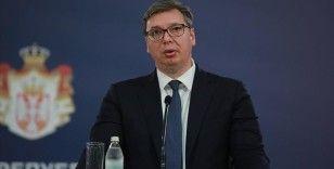 Sırp lider Vucic'in Beyaz Saray'daki görüntüleri tartışılıyor