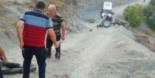 Kahramanmaraş'ta traktör kazası: 1 ölü
