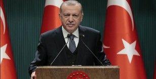 Erdoğan: Ailelerin tercihine göre okul öncesi ve ilkokul 1'den başlayarak okullarımızı eğitim öğretime açıyoruz