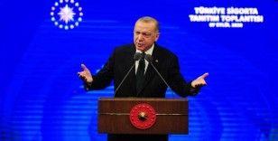 """Cumhurbaşkanı Erdoğan, """"Ülkemizin en büyük sigorta ve emeklilik şirketini tesis ediyoruz"""""""