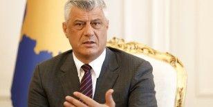 Thaçi: 'İsrail'in Kosova'yı tanıması Türkiye ile dostluk ve kardeşlik ortaklığını etkilemeyecek'