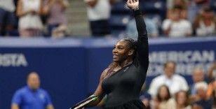 Serena Williams ABD Açık'ta çeyrek finalde