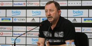 Beşiktaş Teknik Direktörü Sergen Yalçın taraftara sabır çağrısında bulundu