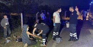 Tarım işçilerini taşıyan traktör devrildi: Yaralı var