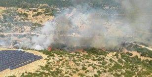 Bozdoğan'da makilik yangını
