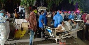 Hindistan'da hastanede korkutan yangın
