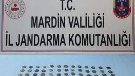 Mardin'de tarihi eser kaçakçılığı operasyonu