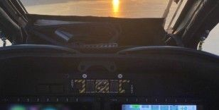 Atak helikopter pilotundan Van jesti