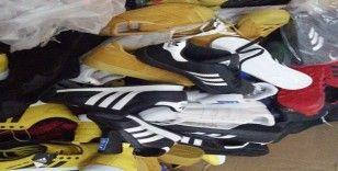 Silivri polisinden 250 bin TL'lik 'sahte markalı' ayakkabı operasyonu