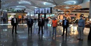 İstanbul Havalimanı'nda koronavirüs denetimleri sürüyor