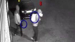 İş yerinden hırsızlık anı kamerada