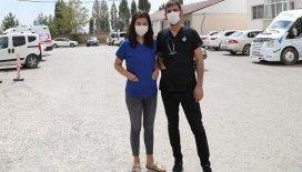 Koronavirüsü yenip dünyaevine giren doktor çiftten 'tedbirlere uyun' çağrısı