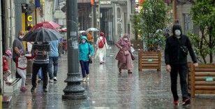 İstanbul'da kısa süreli sağanak ve gök gürültülü sağanak bekleniyor