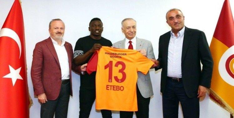 Etebo: 'Büyük ve tarihi bir kulübe geldiğim için çok mutluyum'