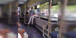 Otobüs şoförü ile öğrencinin 'Boş İstanbulkart' tartışması