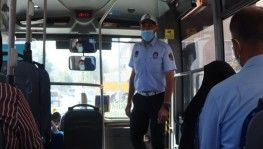 Şanlıurfa'da toplu taşıma araçlarında denetim