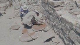 Belgesel çekim çalışmasında 6.'ıncı yüzyıla ait insan iskeleti ortaya çıktı