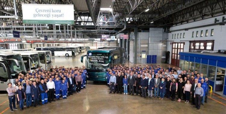 Mercedes-Benz Türk, 95 bininci otobüsünü üretti