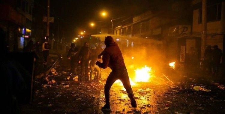 Kolombiya'da polis şiddetine tepki gösterilerinde 7 kişi öldü, 248 kişi yaralandı