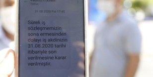 Beşiktaş Belediyesi işçileri pandemi sürecinde işten çıkardı