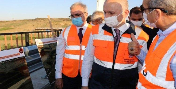 Bakan Karaismailoğlu, Diyarbakır-Eğil karayolunu hizmete açtı