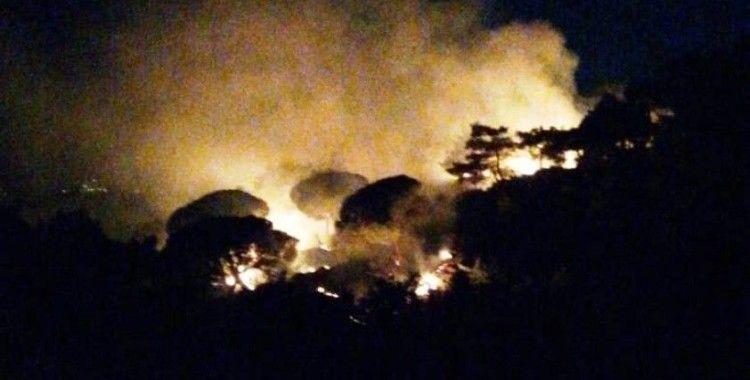 Çine'deki yangın kontrol altına alındı