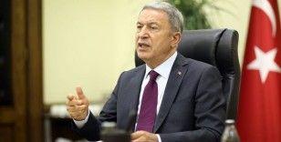 Milli Savunma Bakanı Akar: Türkiye aleyhine çeşitli kumpaslara girenler hüsrana uğrayacaklar