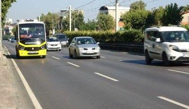 Tek teker üzerinde giden sürücüye tek seferde 7 bin lira ceza