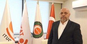 HAK-İŞ Genel Başkanı Arslan: 'Bütün antidemokratik müdahaleleri reddediyoruz'