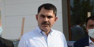 Bakan Kurum, tarımköy konutlarında incelemelerde bulundu