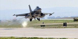Akdeniz Fırtınası-2020 Tatbikatı'nda F-16'ların katılımıyla hava hücum görevi icra edildi