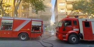 Lokantadaki yangın korkuttu