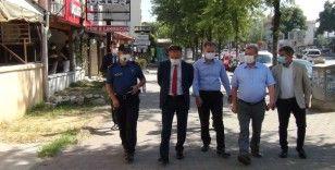 Emniyet müdüründen maske takmayan 4 polise ceza