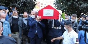Şehit Yüzbaşı Mahmut Top son yolculuğuna uğurlandı