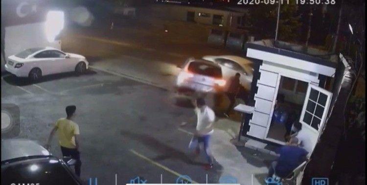 Feci kazada ölümden saniyelerle kurtuluş kamerada