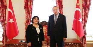 Cumhurbaşkanı Erdoğan, Azerbaycan Milli Meclis Başkanı'nı kabul etti