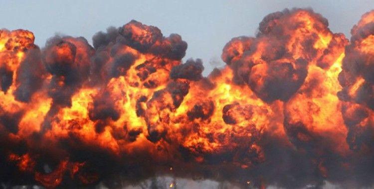 Irak'ta koalisyon güçlerine destek sağlayan tıra bombalı saldırı: 1 yaralı